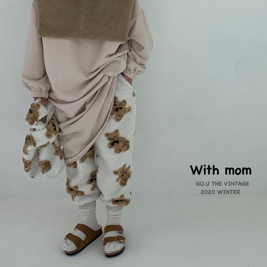 GOU - Korean Children Fashion - #Kfashion4kids - Bear Pants with Mom - 10