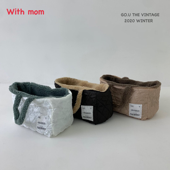 GOU - Korean Children Fashion - #Kfashion4kids - Reversible Bag with Mom