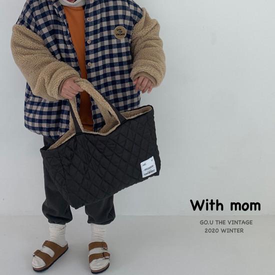 GOU - Korean Children Fashion - #Kfashion4kids - Reversible Bag with Mom - 10
