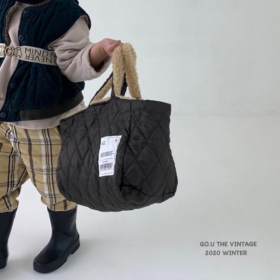 GOU - Korean Children Fashion - #Kfashion4kids - Reversible Bag with Mom - 3