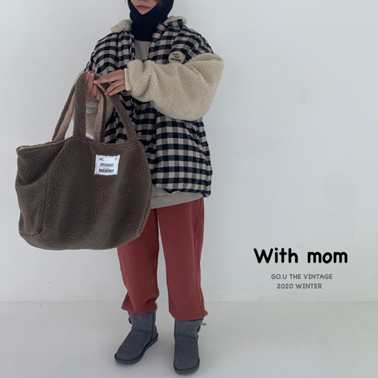 GOU - Korean Children Fashion - #Kfashion4kids - Reversible Bag with Mom - 9