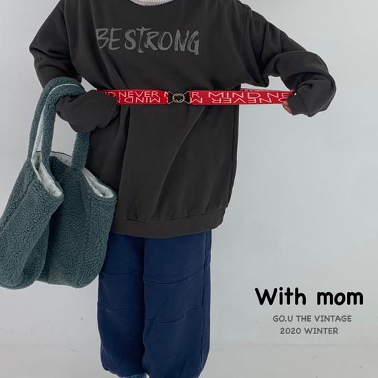 GOU - Korean Children Fashion - #Kfashion4kids - 88 Belt with Mom - 11