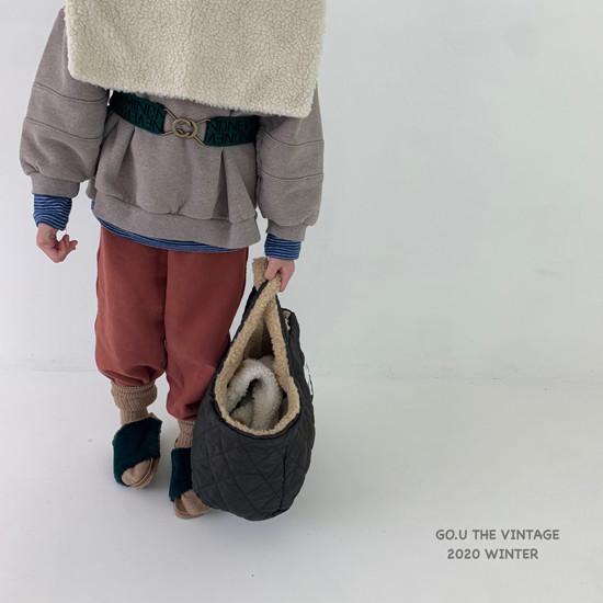 GOU - Korean Children Fashion - #Kfashion4kids - 88 Belt with Mom - 3