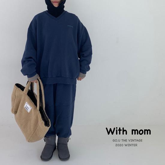 GOU - Korean Children Fashion - #Kfashion4kids - Vintage Sweat Shirt with Mom - 10