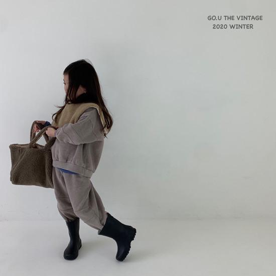 GOU - Korean Children Fashion - #Kfashion4kids - Vintage Sweat Shirt with Mom - 5