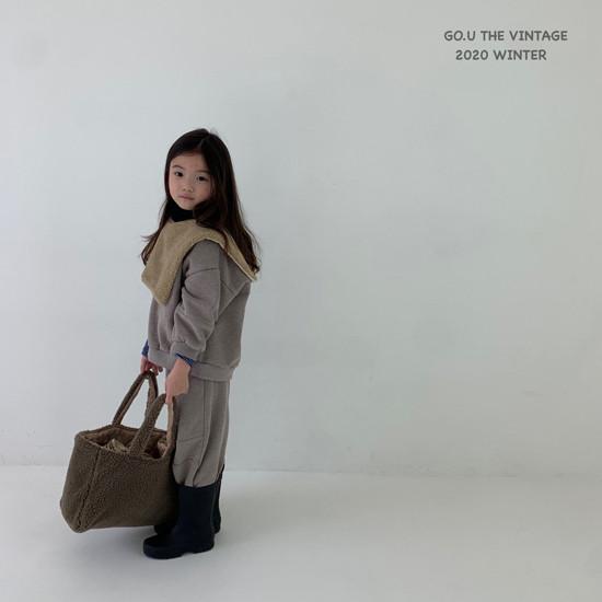 GOU - Korean Children Fashion - #Kfashion4kids - Vintage Sweat Shirt with Mom - 6