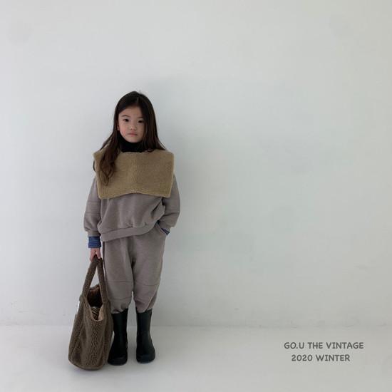 GOU - Korean Children Fashion - #Kfashion4kids - Vintage Sweat Shirt with Mom - 7