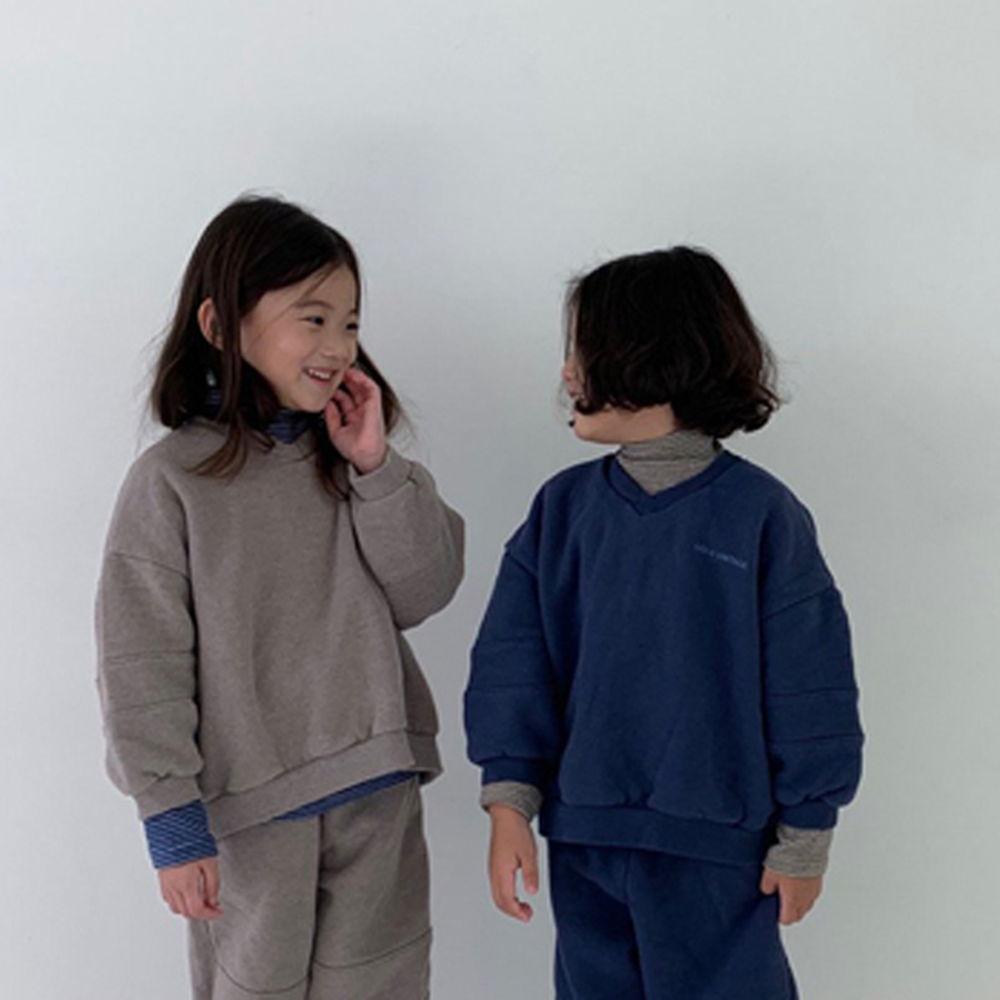 GOU - BRAND - Korean Children Fashion - #Kfashion4kids - Vintage Sweat Shirt with Mom