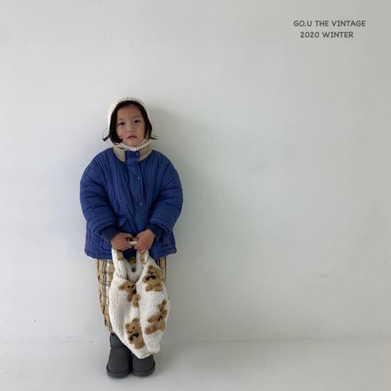 GOU - Korean Children Fashion - #Kfashion4kids - Waterproof Padding Jumper - 3