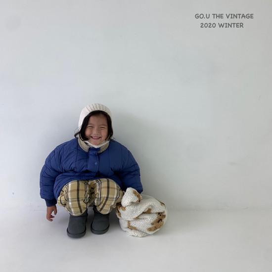 GOU - Korean Children Fashion - #Kfashion4kids - Waterproof Padding Jumper - 4