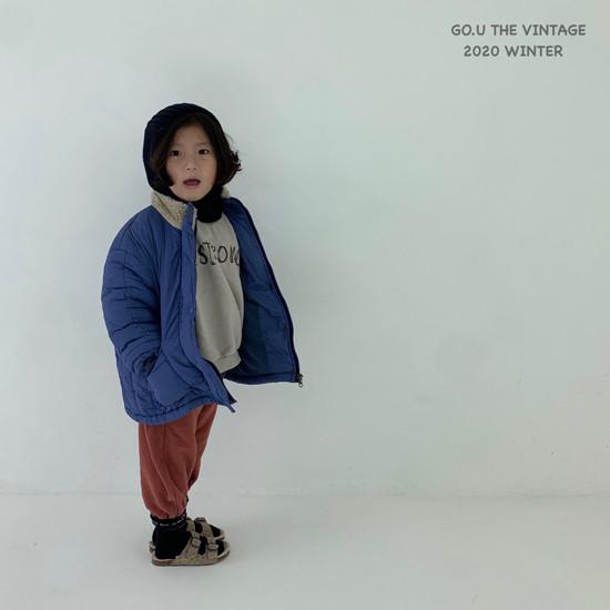 GOU - Korean Children Fashion - #Kfashion4kids - Waterproof Padding Jumper - 5