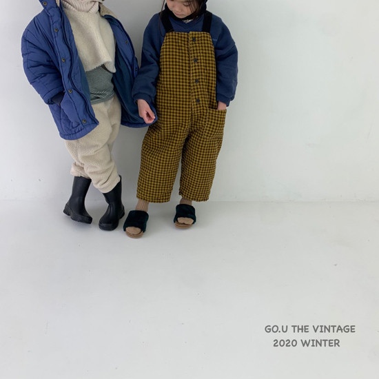 GOU - Korean Children Fashion - #Kfashion4kids - Waterproof Padding Jumper - 8
