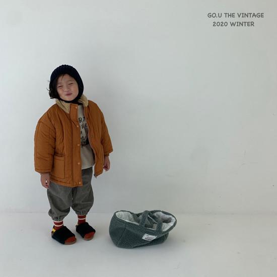 GOU - Korean Children Fashion - #Kfashion4kids - Waterproof Padding Jumper - 9