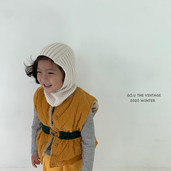 GOU - Korean Children Fashion - #Kfashion4kids - Pingpong Hood with Mom - 3