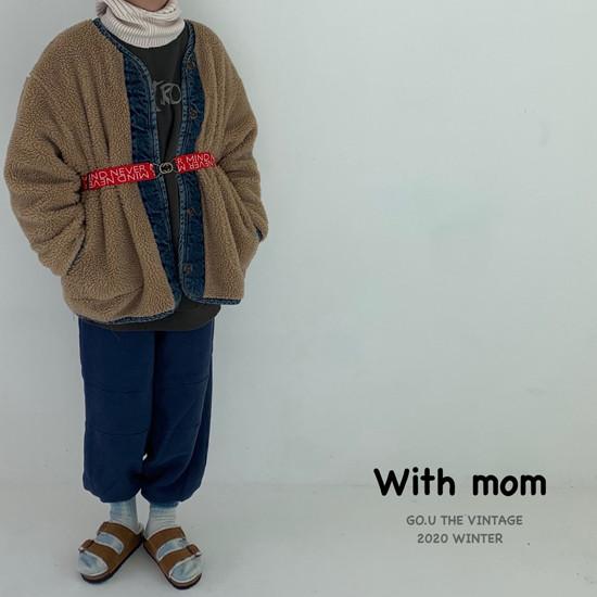 GOU - Korean Children Fashion - #Kfashion4kids - Dumble Denim Jacket with Mom - 10