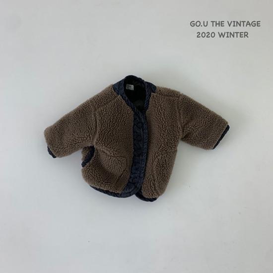 GOU - Korean Children Fashion - #Kfashion4kids - Dumble Denim Jacket with Mom - 12