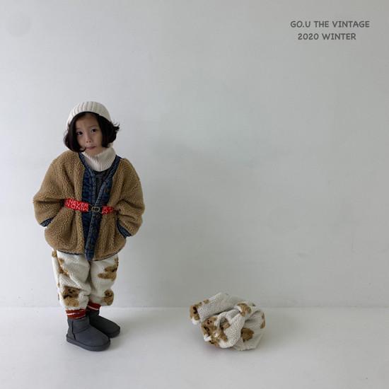 GOU - Korean Children Fashion - #Kfashion4kids - Dumble Denim Jacket with Mom - 2