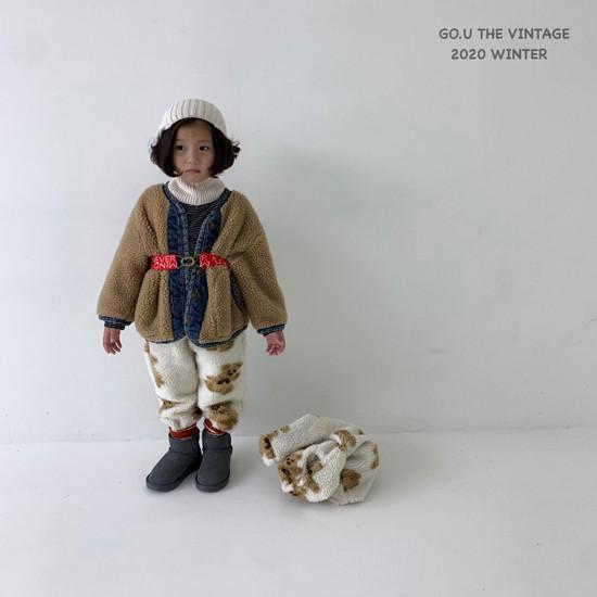 GOU - Korean Children Fashion - #Kfashion4kids - Dumble Denim Jacket with Mom - 5