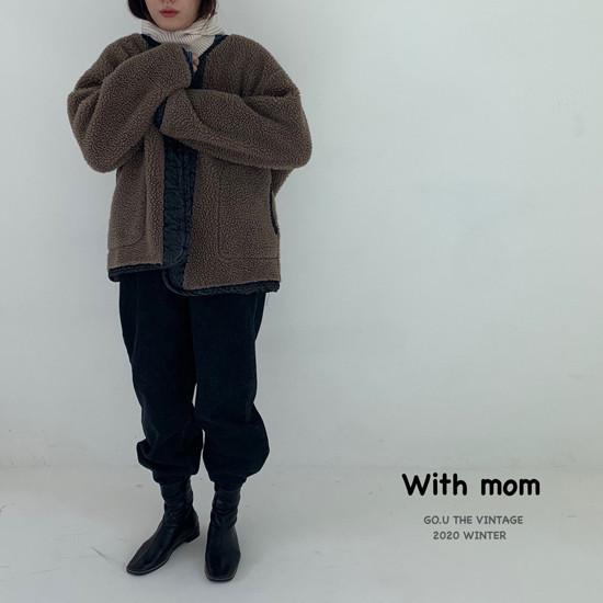 GOU - Korean Children Fashion - #Kfashion4kids - Dumble Denim Jacket with Mom - 9