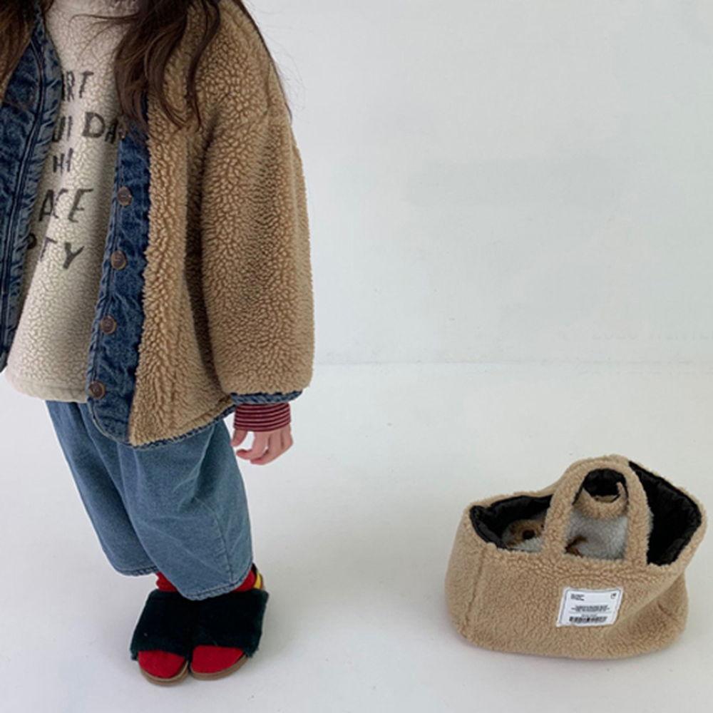GOU - BRAND - Korean Children Fashion - #Kfashion4kids - Dumble Denim Jacket with Mom
