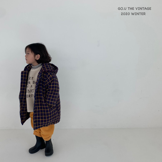 GOU - Korean Children Fashion - #Kfashion4kids - Hood Coat - 3