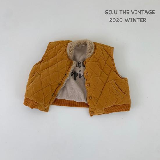 GOU - Korean Children Fashion - #Kfashion4kids - Winter Reversible Vest - 11