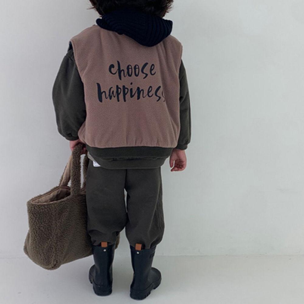 GOU - BRAND - Korean Children Fashion - #Kfashion4kids - Winter Reversible Vest