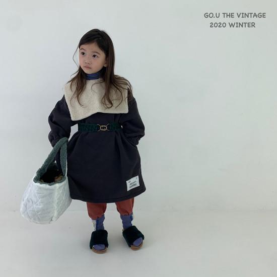 GOU - Korean Children Fashion - #Kfashion4kids - Patch Dress with Mom - 7