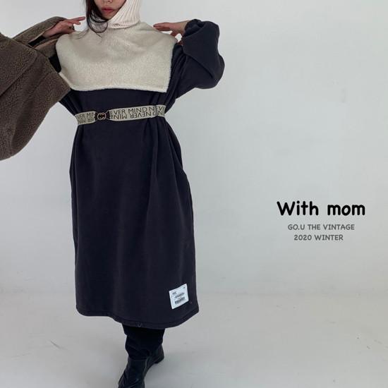 GOU - Korean Children Fashion - #Kfashion4kids - Patch Dress with Mom - 9