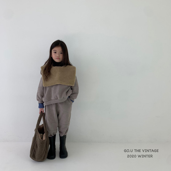 GOU - Korean Children Fashion - #Kfashion4kids - Dumble Cape with Mom - 12