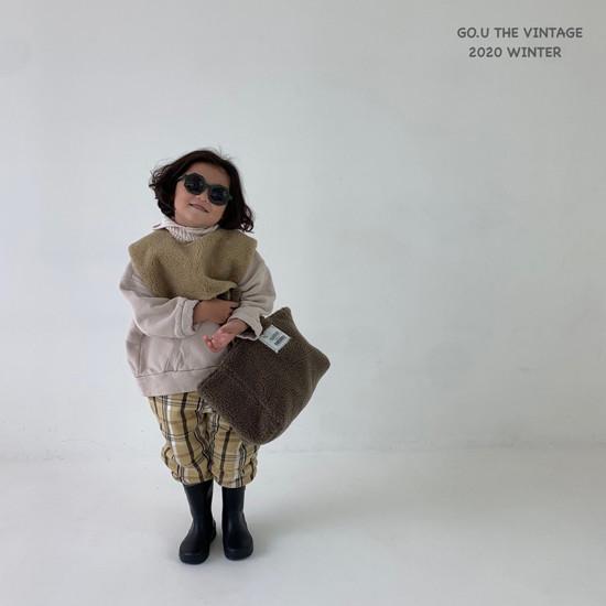 GOU - Korean Children Fashion - #Kfashion4kids - Dumble Cape with Mom - 2