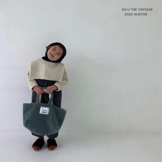 GOU - Korean Children Fashion - #Kfashion4kids - Dumble Cape with Mom - 3