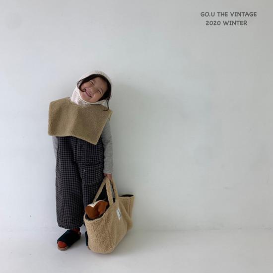 GOU - Korean Children Fashion - #Kfashion4kids - Dumble Cape with Mom - 4