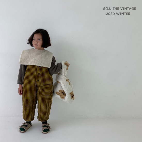GOU - Korean Children Fashion - #Kfashion4kids - Dumble Cape with Mom - 5