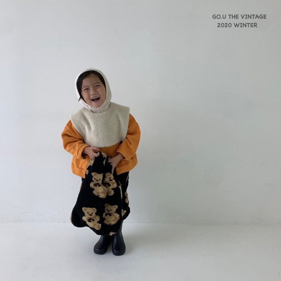 GOU - Korean Children Fashion - #Kfashion4kids - Dumble Cape with Mom - 7