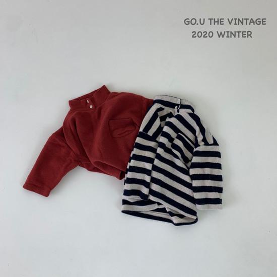 GOU - Korean Children Fashion - #Kfashion4kids - Soft Turtleneck Tee