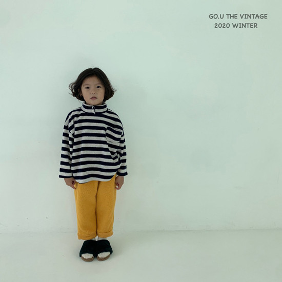 GOU - Korean Children Fashion - #Kfashion4kids - Soft Turtleneck Tee - 2