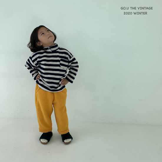 GOU - Korean Children Fashion - #Kfashion4kids - Soft Turtleneck Tee - 6