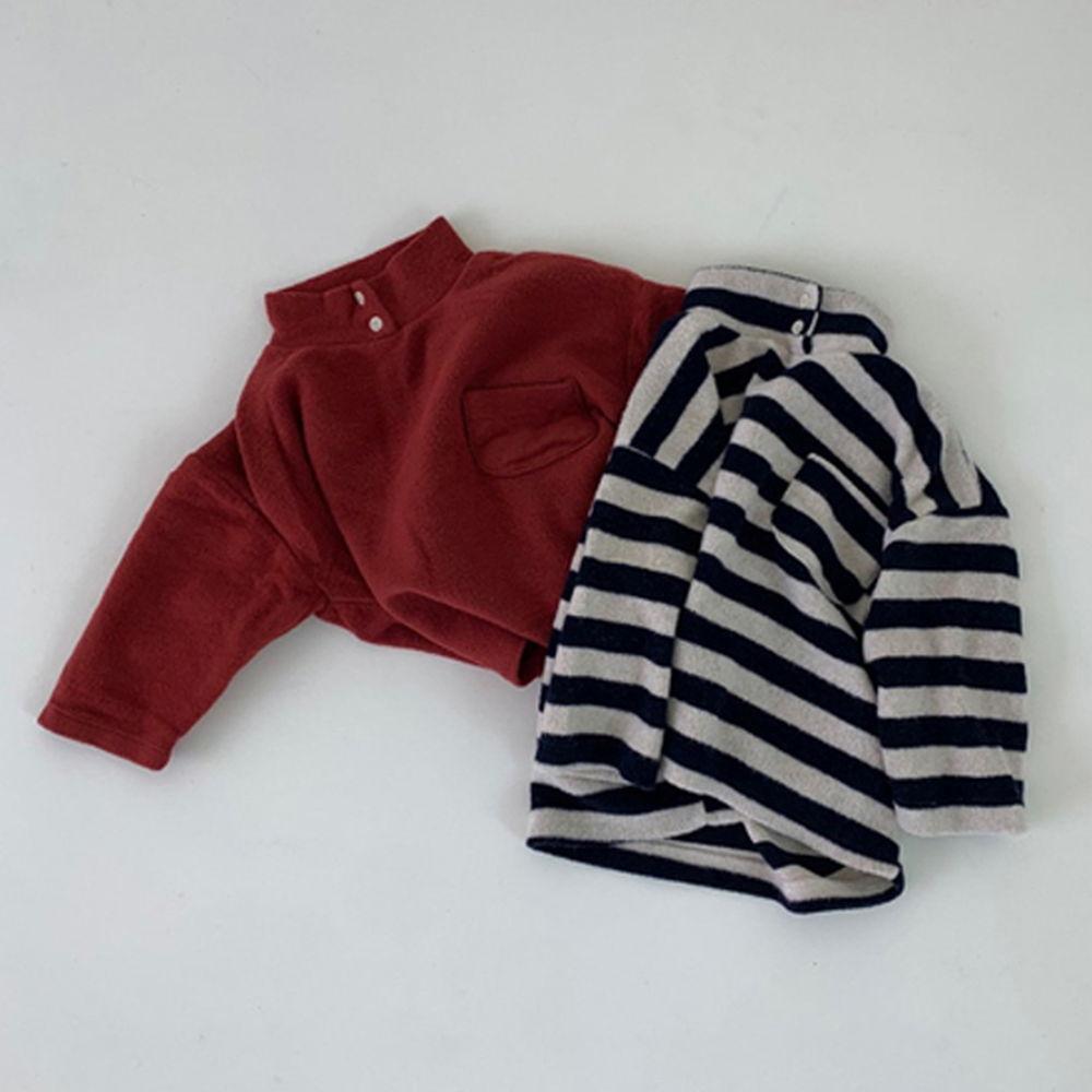 GOU - BRAND - Korean Children Fashion - #Kfashion4kids - Soft Turtleneck Tee