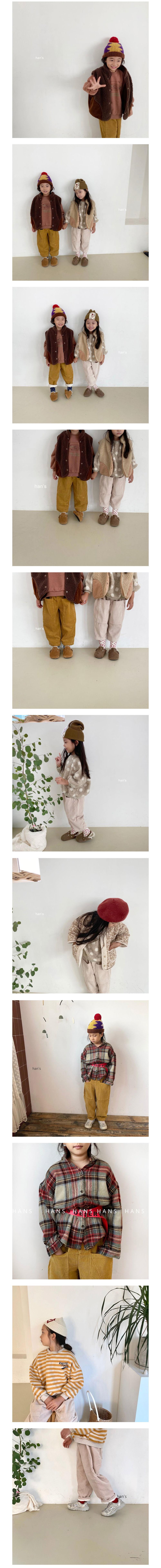 HAN'S - Korean Children Fashion - #Kfashion4kids - Big Pocket Corduroy Pants - 2