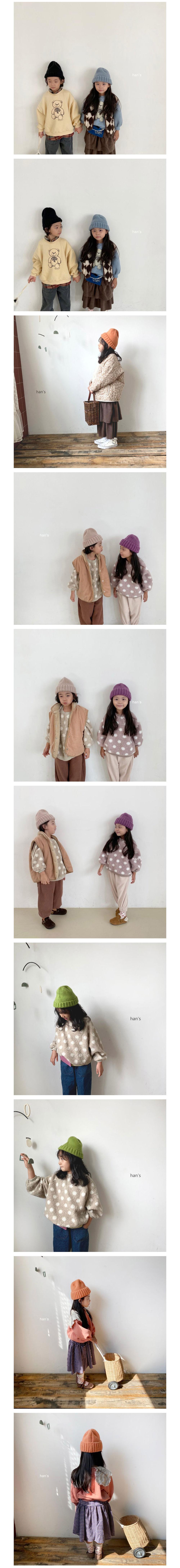 HAN'S - Korean Children Fashion - #Kfashion4kids - Winter Beanie - 2