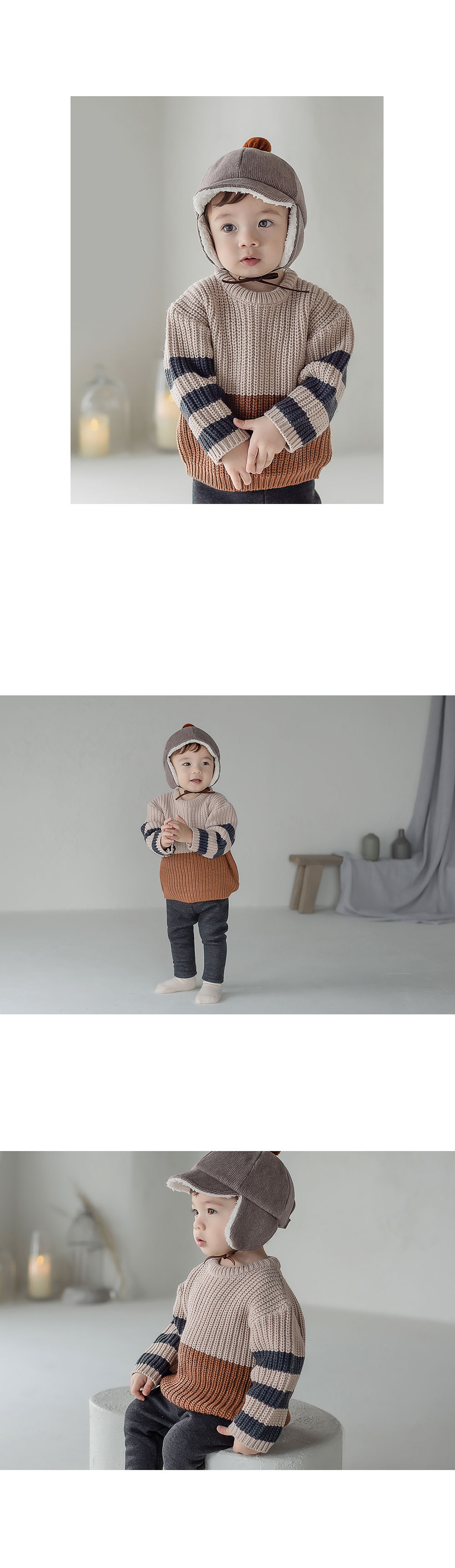 HAPPY PRINCE - Korean Children Fashion - #Kfashion4kids - Joseph Knit Baby Knit Pullover - 5