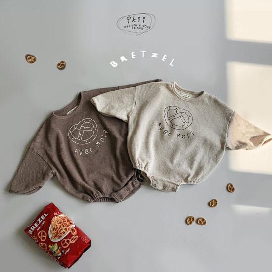 IKII - Korean Children Fashion - #Kfashion4kids - Bebe Bretzel Romper
