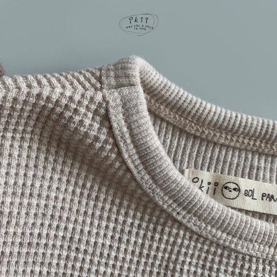 IKII - Korean Children Fashion - #Kfashion4kids - Bebe Bretzel Romper - 10
