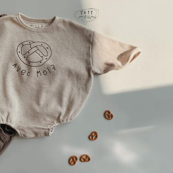 IKII - Korean Children Fashion - #Kfashion4kids - Bebe Bretzel Romper - 2