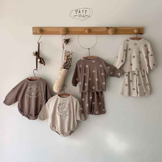 IKII - Korean Children Fashion - #Kfashion4kids - Bebe Bretzel Romper - 4