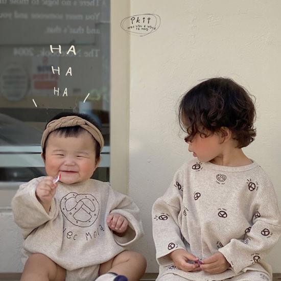 IKII - Korean Children Fashion - #Kfashion4kids - Bebe Bretzel Romper - 5