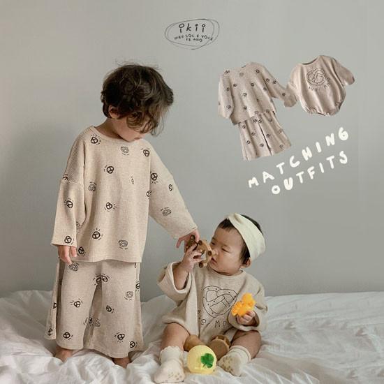 IKII - Korean Children Fashion - #Kfashion4kids - Bebe Bretzel Romper - 6