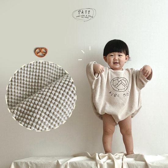 IKII - BRAND - Korean Children Fashion - #Kfashion4kids - Bebe Bretzel Romper
