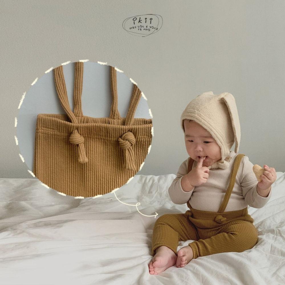 IKII - Korean Children Fashion - #Kfashion4kids - Gem Overall Leggings - 10